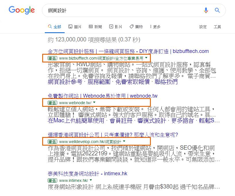 什麼是Google搜尋廣告